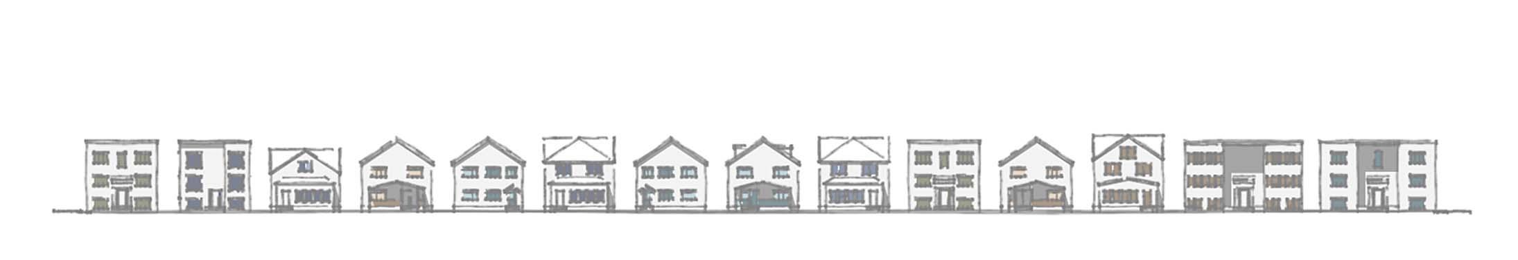 Elevation rendering of Interior 2