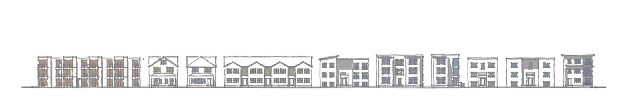 Elevation rendering of Interior 3
