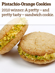 Pistachio-Orange Cookies