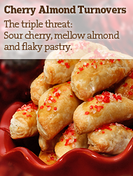 Cherry Almond Turnovers