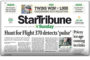 Star Tribune Newspaper Ads