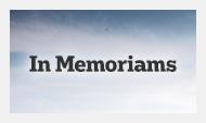 In Memoriams